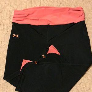 EUC Under Armour Capri Yoga Pants